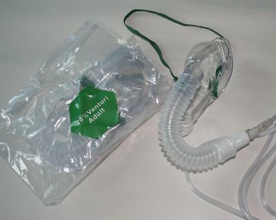 2 x Oxygen Mask 28% Direct - Venturi Masks