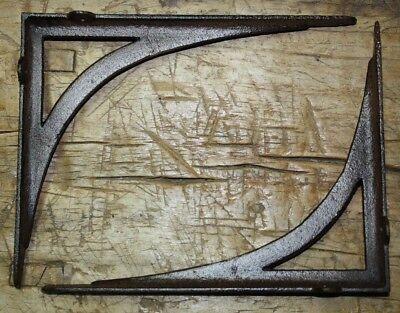 10 Cast Iron Antique Style LIFE RING Brackets Garden Braces Shelf Bracket Bamboo