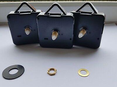 Round Shaft LEZ Quarzt DIY Ticking Clock Wall Clock Replacement mechanism &parts