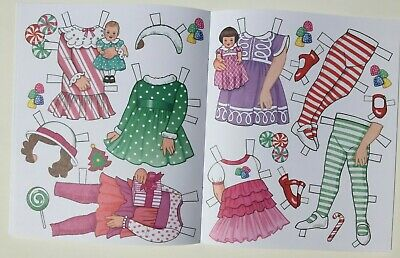 *NEW!* CANDY CANE CHRISTMAS Paper Dolls - Super cute! By Eileen Rudisill Miller 6