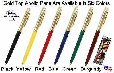 Fisher Space Pen #S251G-Black / Apollo Series Pen in Black & Gold 6