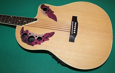 "Chitarra Eq New Orleans Natural Matt No Ovation Style Eq4B 40"" Custodia Omaggio 4"