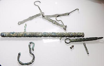 Zurqieh - Ancient Roman / Byzantine Bronze Weight Set. 300 - 600 A.d 8