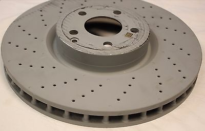 Vented Front 06 to 09 OM629.911 MERCEDES S420 W221 4.0D 2x Brake Discs Pair