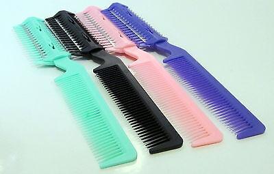 2 in 1 Professional Razor Comb- DIY Hair Extensions Thinning Trim Cutting Tool