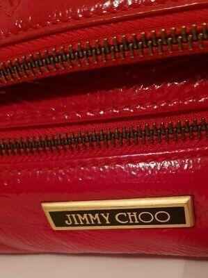 Original Jimmy Choo Damen Tasche Clutch Handtasche echtes  Leder, Lackleder TOP! 2