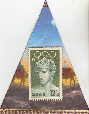 *1936-*german Olympic stamp+SILVER  EAGLES(.900%) coin+*1956-SAAR- Olympic stamp 3