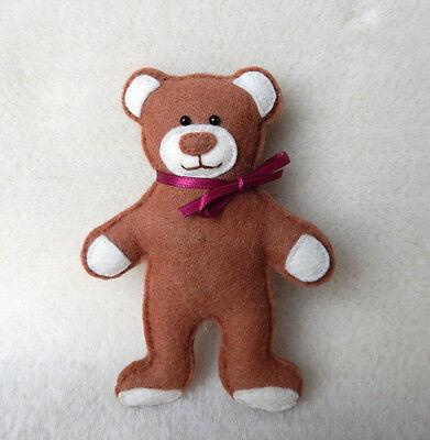 SCHNITTMUSTER MINI TEDDY (13 cm) - Schnitt Minibär Miniteddy nähen ...
