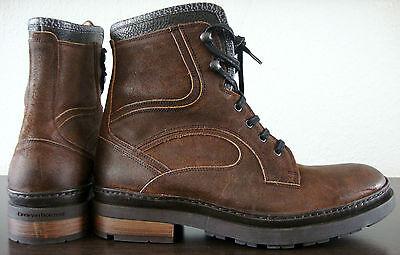 9f401a57d3ceb9 4 von 12 FLORIS VAN BOMMEL Boots Herren Stiefel Schnürstiefelette Schuhe  Braun Gr.41 NEU
