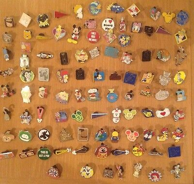 Disney Trading Pins lot of 75 1-3 Day Shipping 100% tradable
