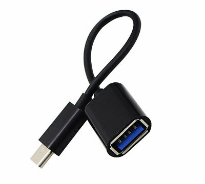 OTG Host Data Sync Cable Cord Adapter To USB Flash Drive For Huawei P20 Lite