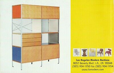 Work of Charles and Ray EAMES LAMA Auction Catalogue 2000 Furniture Chairs RARE 2