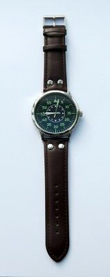 Eaglemoss Replica Military Watch - German Luftwaffe Ww11 - New & Boxed £4.99 !!! 2