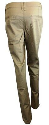 be87cae42ec5c 3 of 7 Womens Ladies Chino Trousers Cotton Blends khaki pink long pant Plus  Size 8-20