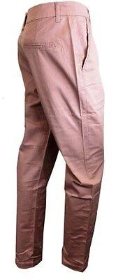 880ab2892172c ... Womens Ladies Chino Trousers Cotton Blends khaki pink long pant Plus  Size 8-20 7