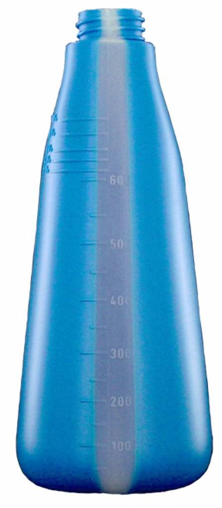 DW Nachfüllflasche 600 ml blau Sprühflasche Zerstäuber Leerflasche Druckflasche 2