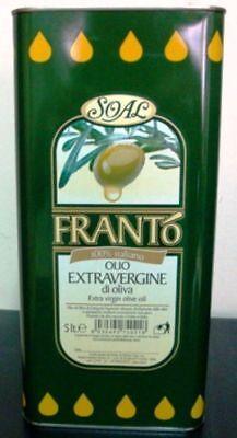 "Olio Extravergine Di Oliva D'oliva"" Franto' "" 5 Lt 2"
