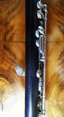 UEBEL G.R. HOLZ Piccolo Flöte Querflöte flute flauta Hammig