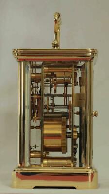 Swiss Matthew Norman 1751A Striking Repeater Grande Corniche Carriage Clock 9