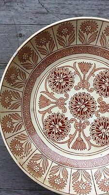 Rare Exceptional Arts and Crafts Marigold Soft Paste Bowl