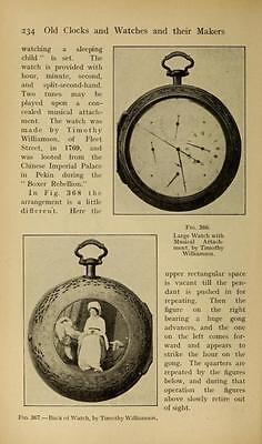 221 Horology Books On Usb - Clockwork Grandfather Clock Clocks Pocket Watch Time 5