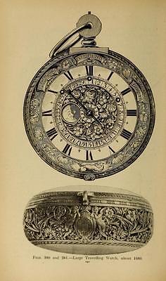 221 Horology Books On Usb - Clockwork Grandfather Clock Clocks Pocket Watch Time 2