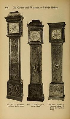 221 Horology Books On Usb - Clockwork Grandfather Clock Clocks Pocket Watch Time 7