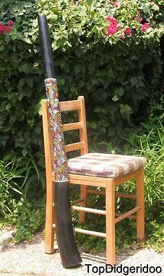 51/""\130cm DIDGERIDOO+Bag+Beeswax Mouthpiece Teak Wood LIZARD Artwork Dot-Paint238|400|?|False|6349487d9e9615529b980f1eb018c5e3|False|UNLIKELY|0.32545873522758484