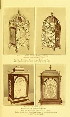 221 Horology Books On Usb - Clockwork Grandfather Clock Clocks Pocket Watch Time 9