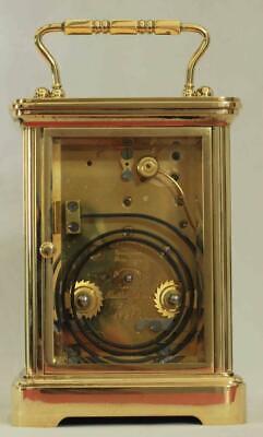 Swiss Matthew Norman 1751A Striking Repeater Grande Corniche Carriage Clock 5