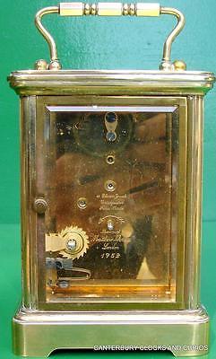 Matthew Norman Grande Corniche Vintage Swiss 8 Day Timepiece Carriage Clock 6