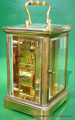 Matthew Norman Grande Corniche Vintage Swiss 8 Day Timepiece Carriage Clock 5