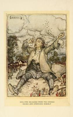 41 Vintage Arthur Rackham Illustrated Childrens Books - Dvd! Fairy Tales Fantasy 4