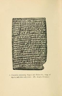 194 Rare Old Cuneiform & Hieroglyphics Books On Dvd - Sumerian Cylinders Tablets 11