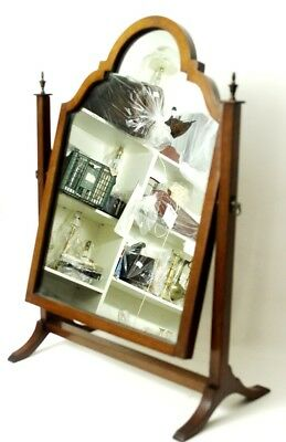 Antique Victorian Mahogany Dressing Table Swing Mirror - FREE Shipping [PL4583] 2