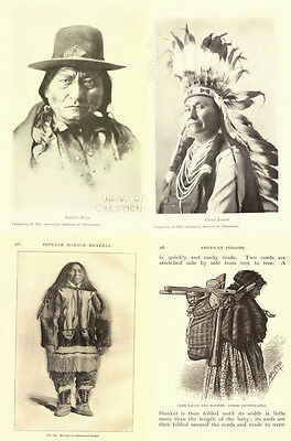 250 Old Books On Native American Indians, History, Culture, Chiefs, Wars & More 8