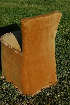 Fab Vintage Retro Bentwood Covered Bedroom Petite Chair Button Backed 7