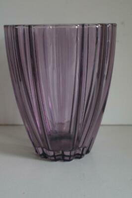 A Lovely Pale Purple Fluted Vase. 2