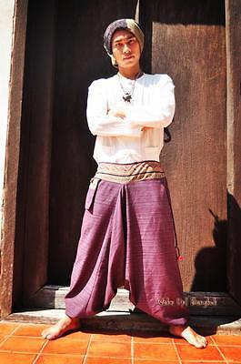 Unisex Minority Burma Hose 100% Baumwolle Myanmar Laos Thailand 1405