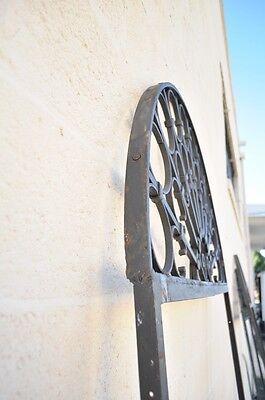 Vintage Ornate Wrought Iron Door Arch Frame Patio Garden Element C 99 x 41 5