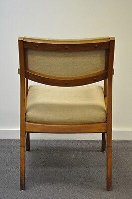 2 Of 11 Vintage Mid Century Modern Walnut Office Desk Arm Chair Danish  Style Gunlocke