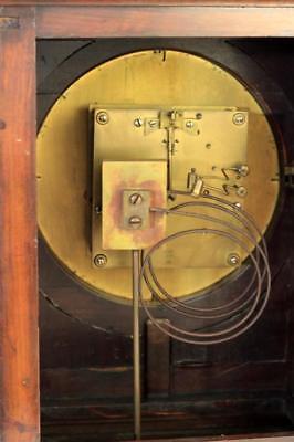 Antique Mahogany 8 Day Bracket Clock Winterhalder & Hofmeier Schwarzenbach 4