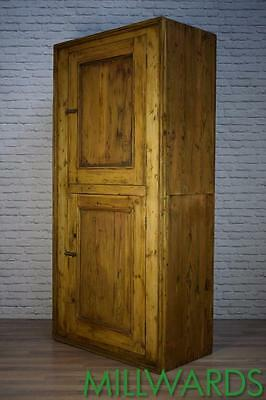 Antique Victorian Pine Industrial Housekeepers Cupboard 3