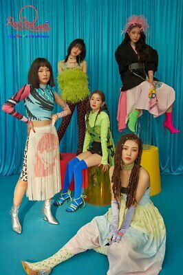 RED VELVET THE REVE FESTIVAL Album DAY 1 Ver CD+POSTER+Magic Kit+Book+Card+GIFT 4