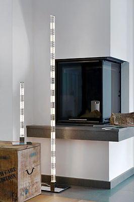 Büromöbel Möbel & Wohnen Led Tischleuchte Tischlampe Bambo Glas Lampe Lichtsäule Lichtsäule Sompex 88215