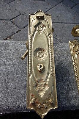 Vintage Brass Cherub Door Hardware Elements 7