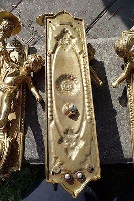 Vintage Brass Cherub Door Hardware Elements 9