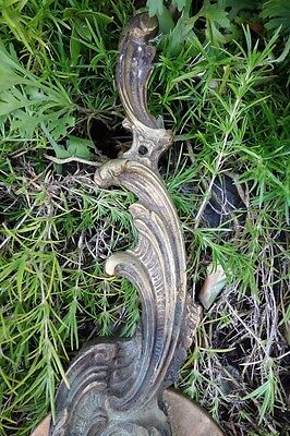 Vintage Pair Brass Sconces 9
