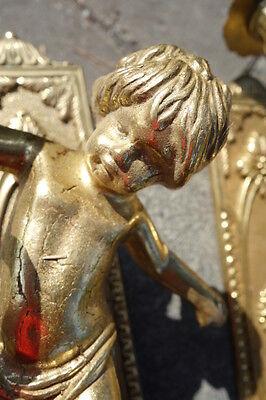 Vintage Brass Cherub Door Hardware Elements 4