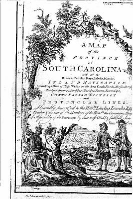 1773 SC MAP Sycamore Tatum Timmonsville Wellford West Columbia Chesnee SURNAMES 2